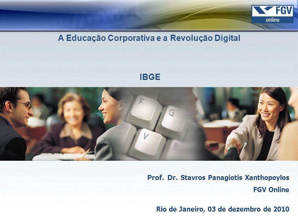 Tópicos FGV Online Gestão do Conhecimento e da Aprendizagem na Era Digital Universidade Corporativa Considerações finais