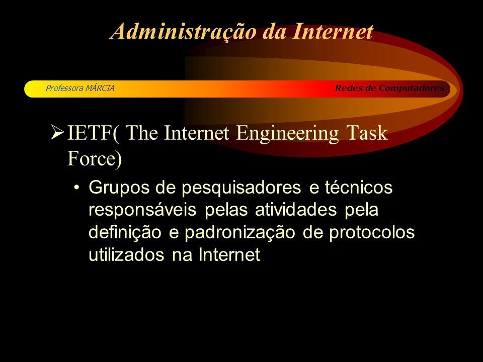 Redes de Computadores Professora MÁRCIA Camada interRede Características do Protocolo IP A troca de mensagens se faz usando pacotes individuais de dados, chamados datagramas.