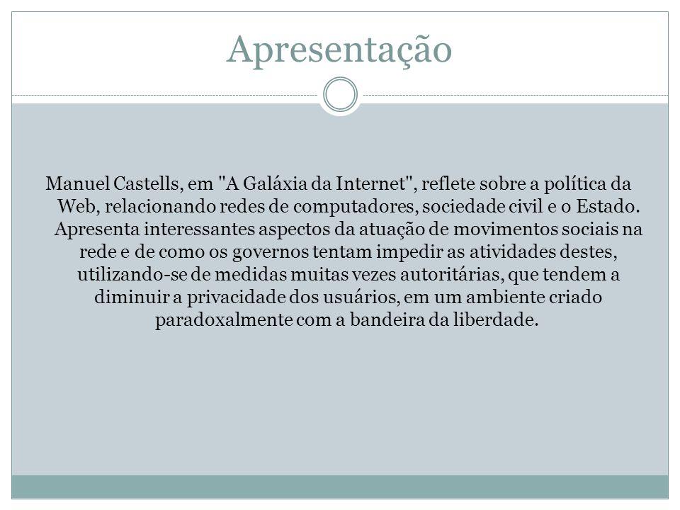 Apresentação Manuel Castells, em