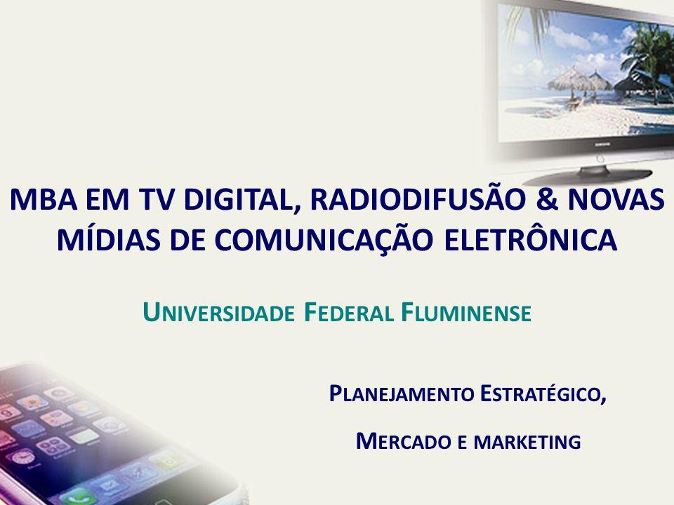 Penetração – Serviços de TV por Assinatura TAXA DE PENETRAÇÃO DA TV POR ASSINATURA NO MUNDO POR 100 DOMICÍLIOS - 2008 PLANEJAMENTO ESTRATÉGICO E COMPETIÇÃO