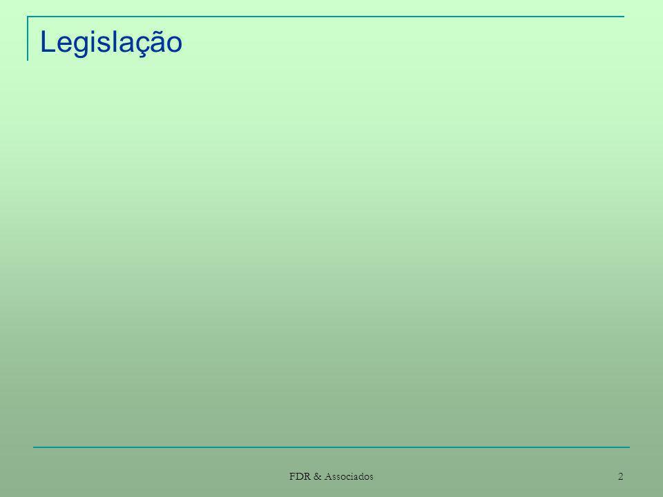 FDR & Associados 33 Procedimentos Concurso público (II) Relatório final Adjudicação Notificação da decisão de adjudicação simultânea a todos os concorrentes com o relatório final E ao adjudicatário para a habilitação (electrónica) e prestar caução Notificação simultânea a todos os concorrentes da apresentação dos documentos de habilitação, para consulta Contrato (suporte informático e assinaturas electrónicas) Anúncio de adjudicação (quando o inicial tenha sido publicado no JOUE)