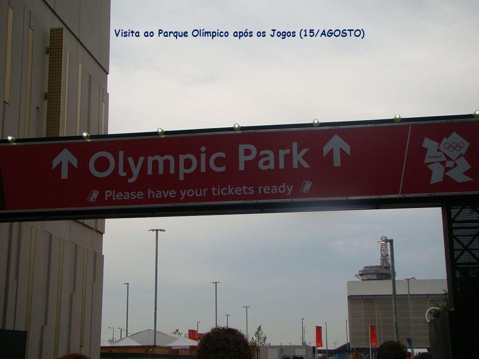 Visita ao Parque Olímpico após os Jogos (15/AGOSTO)