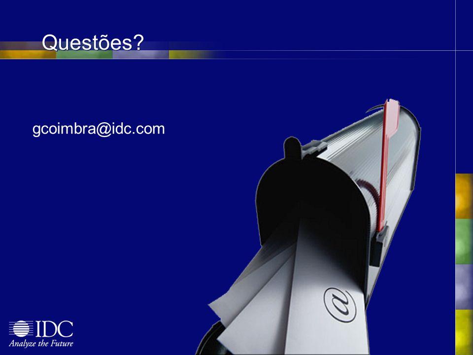 gcoimbra@idc.com Questões?