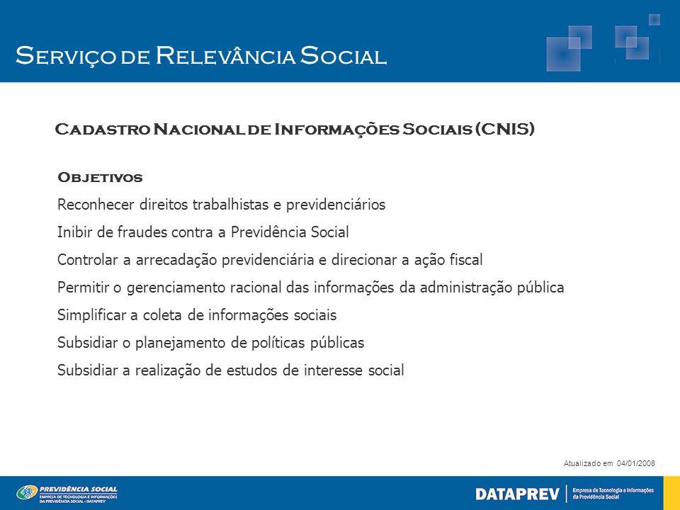 Objetivos Reconhecer direitos trabalhistas e previdenciários Inibir de fraudes contra a Previdência Social Controlar a arrecadação previdenciária e di