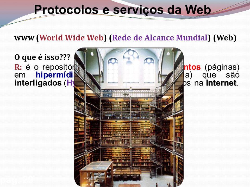 www (World Wide Web) (Rede de Alcance Mundial) (Web) O que é isso .