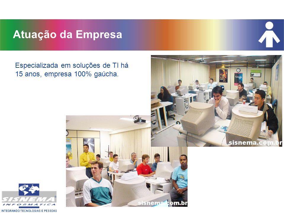 INTEGRANDO TECNOLOGIAS E PESSOAS Única empresa no RS autorizada VUE e Prometric Certificações Oficiais