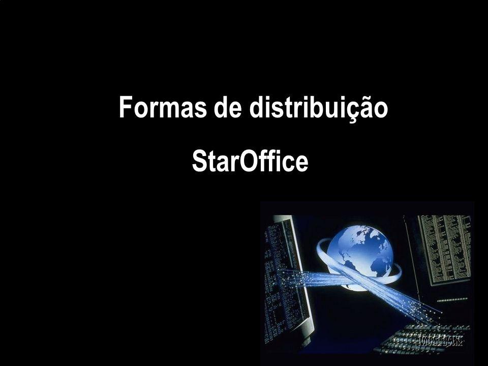 Crie, acesse e organize suas informações com o StarDesktop. * Criar um documento de texto: StarWriter. * Calcule, analise e visualize informações com