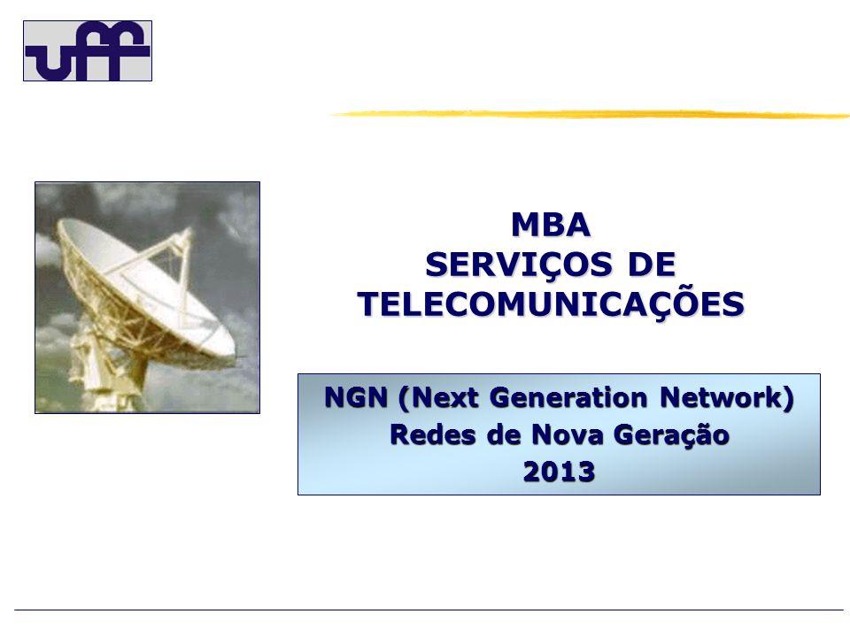 MBA SERVIÇOS DE TELECOMUNICAÇÕES NGN (Next Generation Network) Redes de Nova Geração 2013