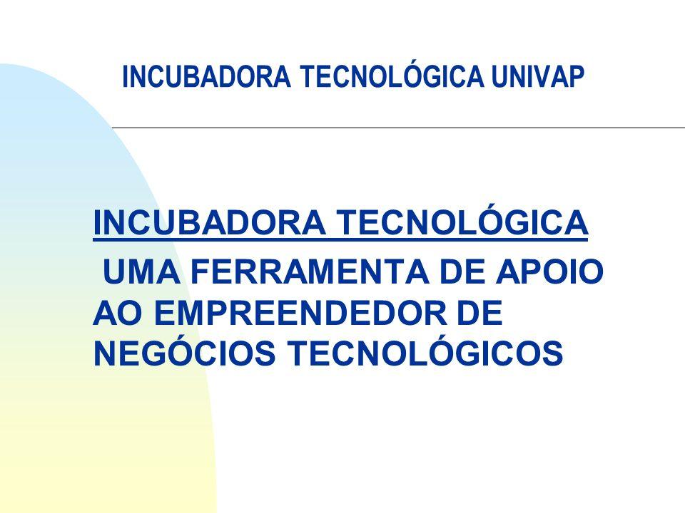 INCUBADORA TECNOLÓGICA UMA FERRAMENTA DE APOIO AO EMPREENDEDOR DE NEGÓCIOS TECNOLÓGICOS