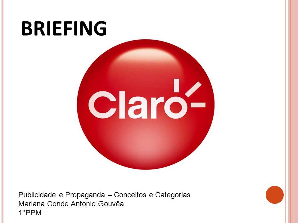 BRIEFING Publicidade e Propaganda – Conceitos e Categorias Mariana Conde Antonio Gouvêa 1°PPM