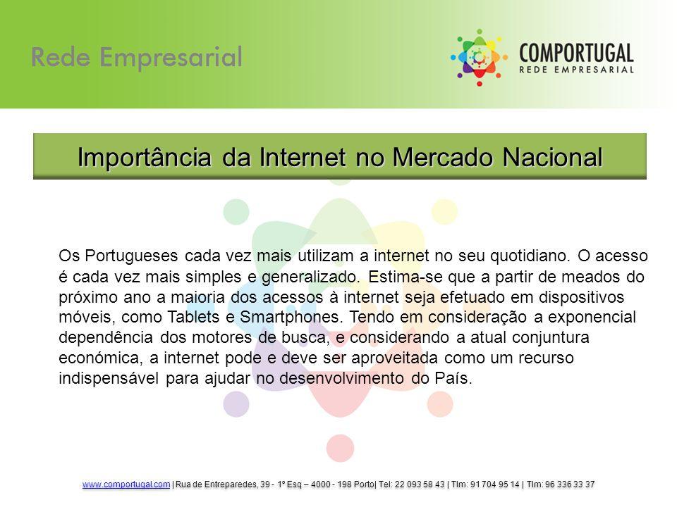 Os Portugueses cada vez mais utilizam a internet no seu quotidiano.
