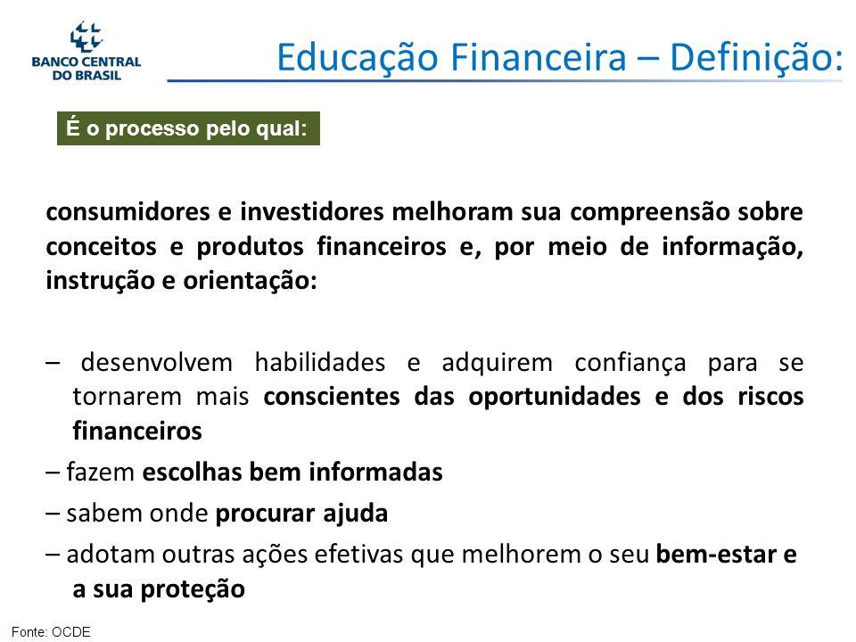 A educação financeira pode constituir uma ferramenta a mais para os responsáveis do desenho e da implementação de políticas públicas que promovam o crescimento econômico e o desempenho estável dos mercados financeiros.