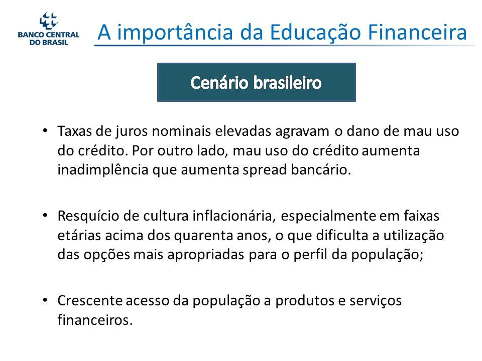 Educação Financeira Obrigado.