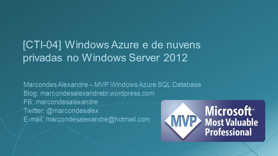 Links http://www.windowsazure.com http://www.microsoft.com/pt-br/server-cloud/system- center/default.aspx