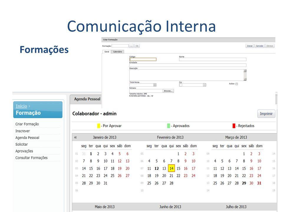 Comunicação Interna Formações
