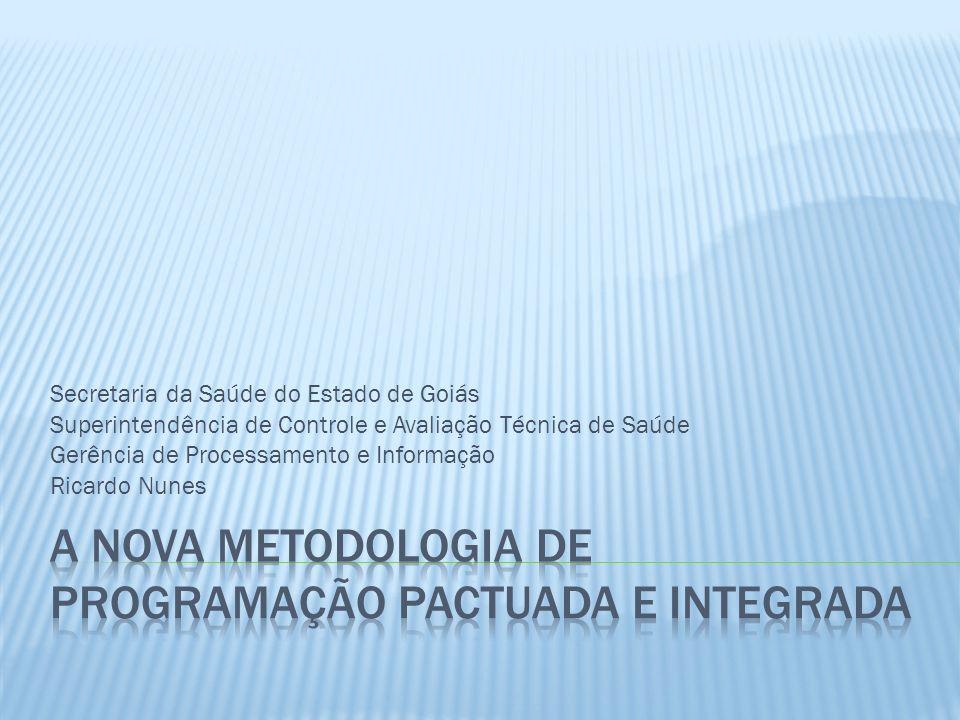 Secretaria da Saúde do Estado de Goiás Superintendência de Controle e Avaliação Técnica de Saúde Gerência de Processamento e Informação Ricardo Nunes