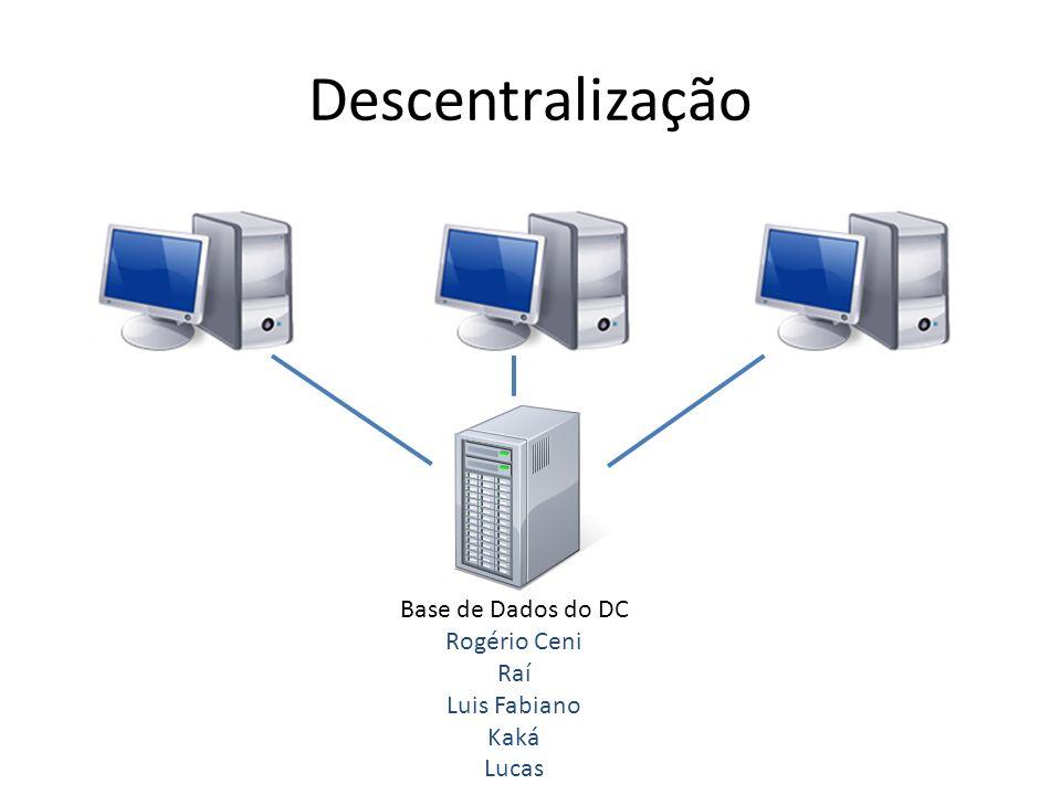 Instalação do AD Informe o caminho da base de dados e do registro de logs do sistema, clicando em próximo;