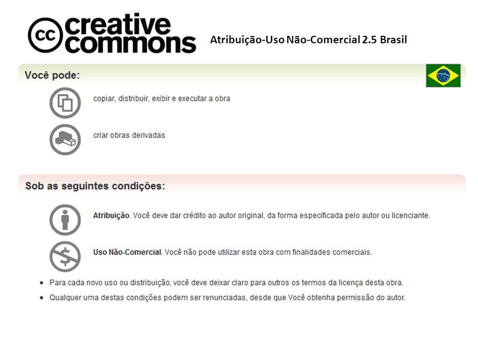 Atribuição-Uso Não-Comercial 2.5 Brasil