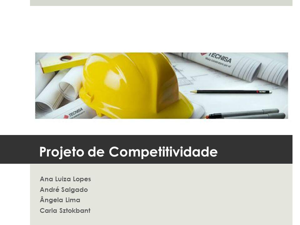 Projeto de Competitividade Ana Luiza Lopes André Salgado Ângela Lima Carla Sztokbant