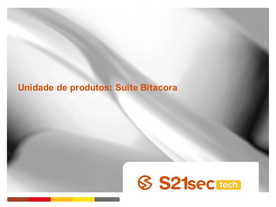 Unidade de produtos: Suite Bitacora
