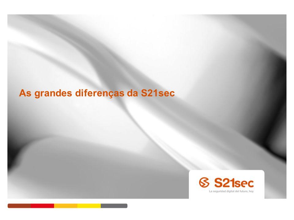 As grandes diferenças da S21sec Pág. 34
