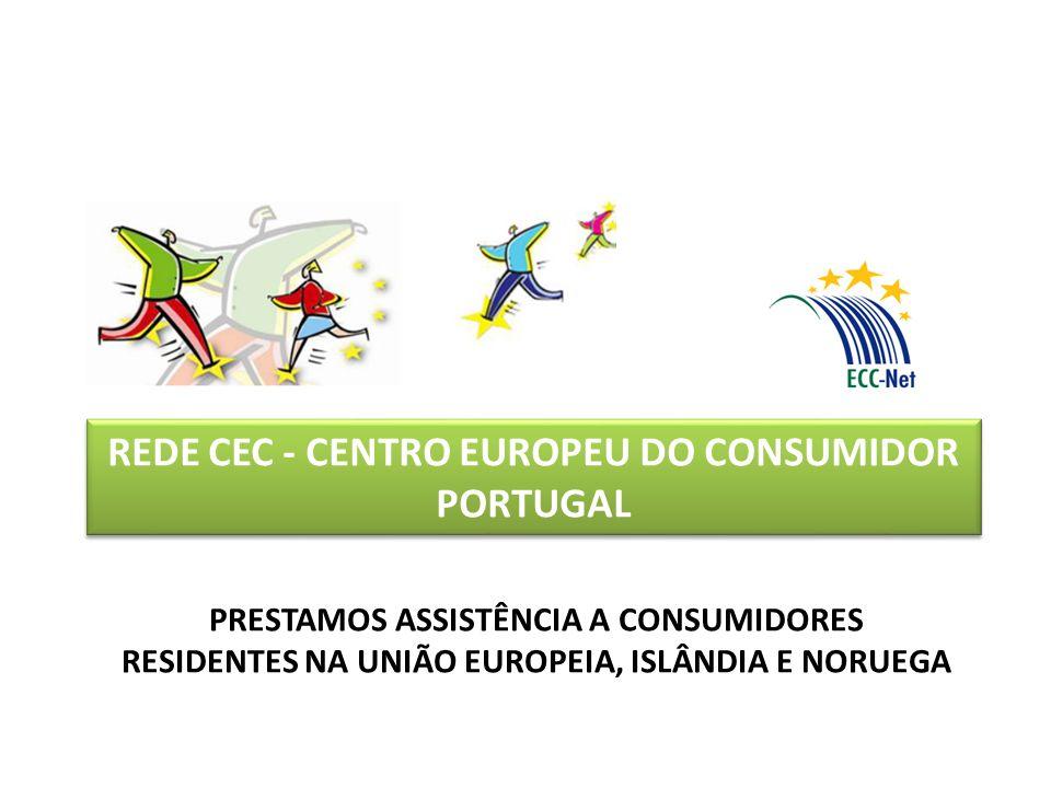 REDE CEC - CENTRO EUROPEU DO CONSUMIDOR PORTUGAL PRESTAMOS ASSISTÊNCIA A CONSUMIDORES RESIDENTES NA UNIÃO EUROPEIA, ISLÂNDIA E NORUEGA