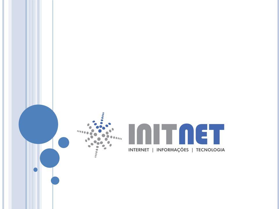 A PRESENTAÇÃO I NIT N ET A INIT NET é uma empresa idealizada no final de 1999 tendo como finalidade fornecer soluções comerciais baseadas em três pilares: INternet, Informação e Tecnologia, dando origem à sigla INIT, presente em seu nome.
