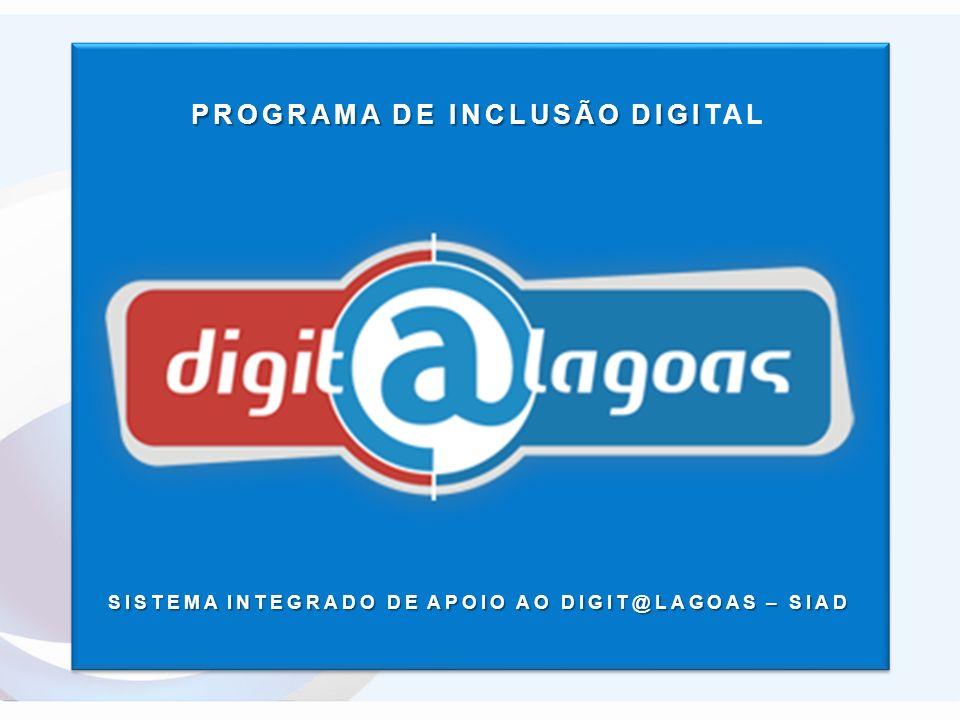 Apresenta PROGRAMA DE INCLUSÃO DIGITAL ITEC Ciência, tecnologia, inovação Integrando Alagoas ao mundo