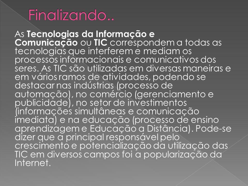 Num computador digital, a informação é representada com apenas dois símbolos, 0 e 1.