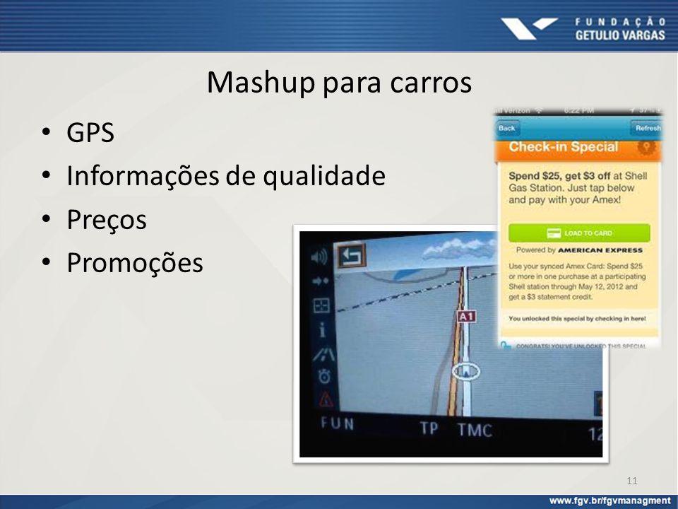 Mashup para carros GPS Informações de qualidade Preços Promoções 11