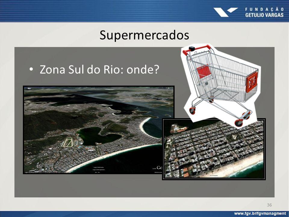 Supermercados Zona Sul do Rio: onde? 36