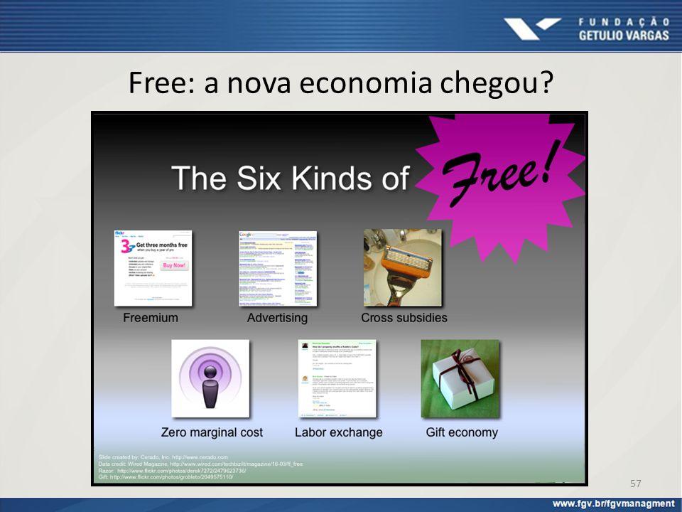 Free: a nova economia chegou? 57