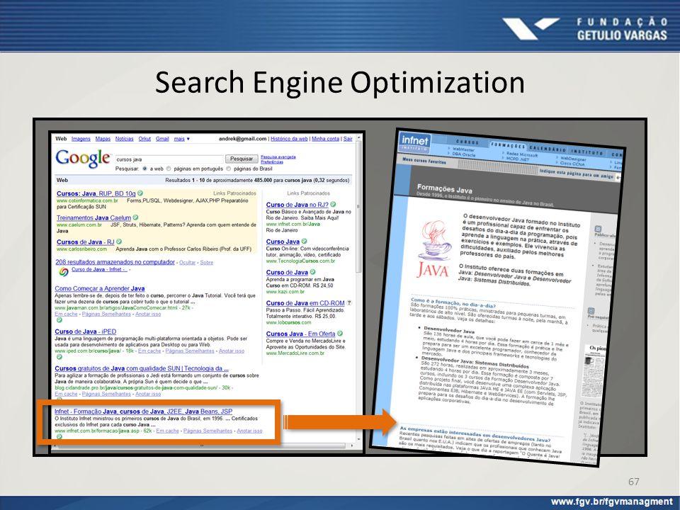 Search Engine Optimization 67