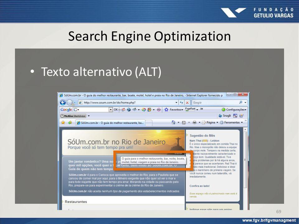 Search Engine Optimization Texto alternativo (ALT) 69