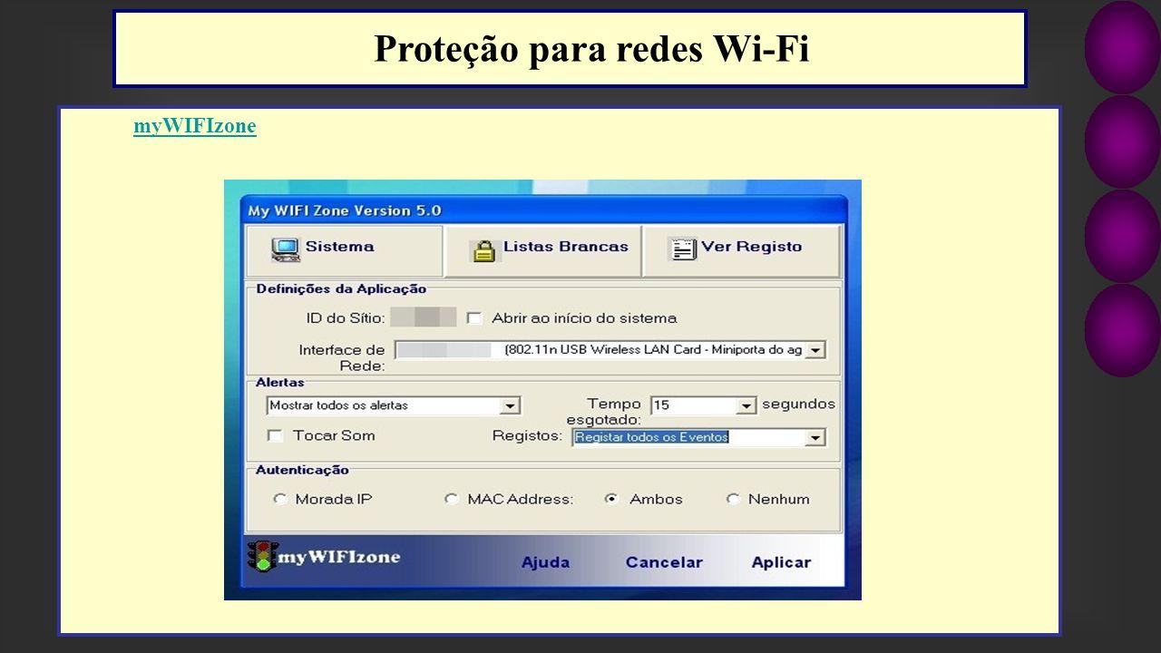 myWIFIzone Proteção para redes Wi-Fi