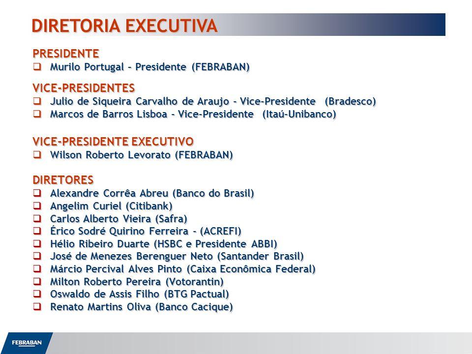 PRESIDENTE Murilo Portugal – Presidente (FEBRABAN) Murilo Portugal – Presidente (FEBRABAN)VICE-PRESIDENTES Julio de Siqueira Carvalho de Araujo - Vice