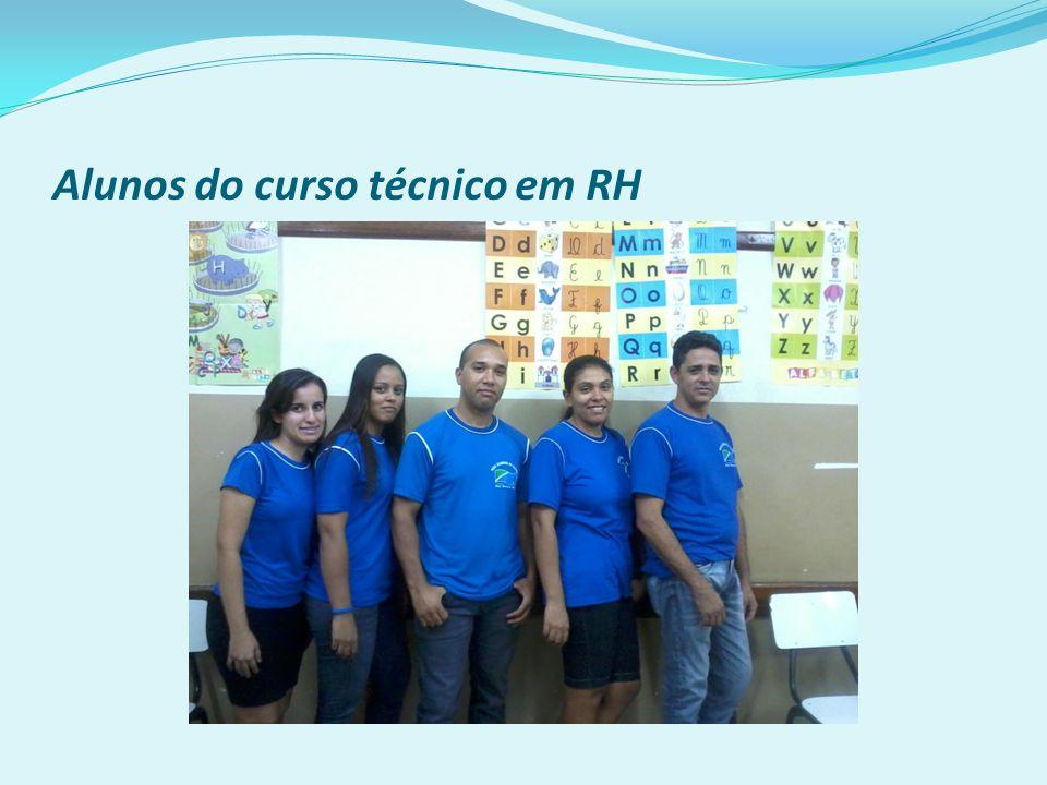 Alunos do curso técnico em RH