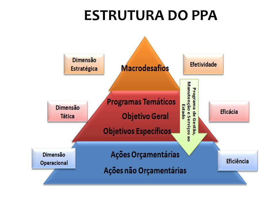 ESTRUTURA DO PPA