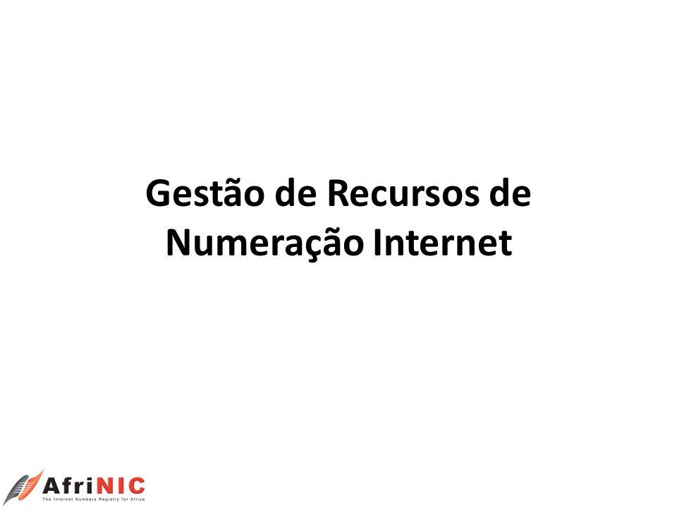 Como Solicitar Endereços IP Importante: Ter o seguinte à mão: Para verificar as suas necessidades de endereços IP: Contracto(s) com os seus fornecedores de serviço IP.