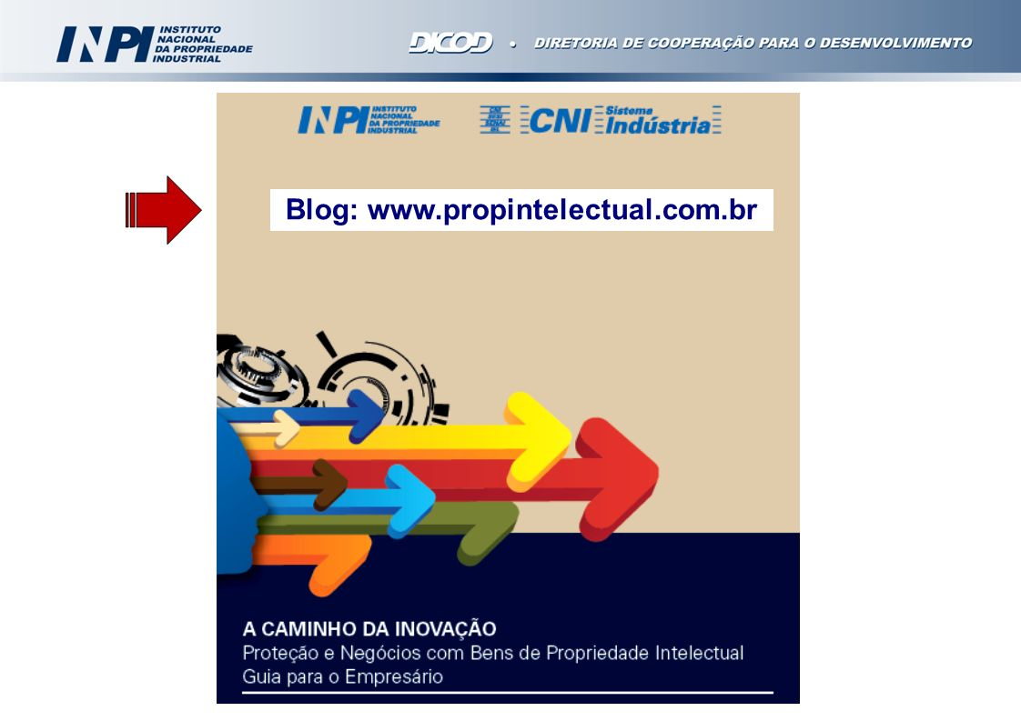 Blog: www.propintelectual.com.br