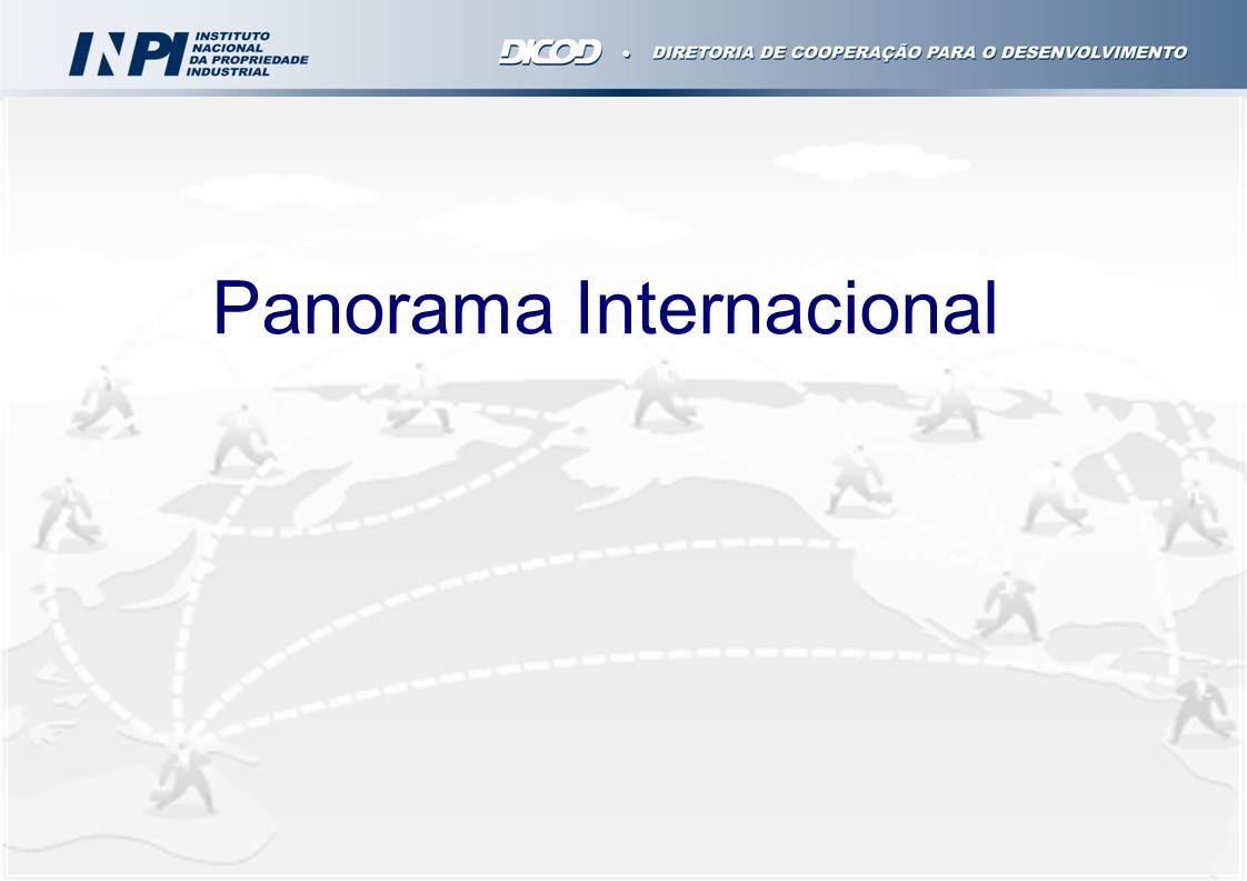 Agosto 2011 – Seminário de lançamento da cartilha destacando a interface entre a propriedade intelectual e o comércio exterior – disponível para download no Portal INPIPortal INPI Setembro/2011 a Fevereiro/2012 - capacitação de 167 multiplicadores em 12 pólos do PEIEX – Projeto de Extensão Industrial Exportadora da Apex Brasil (cada pólo atende 240 empresas/ano).