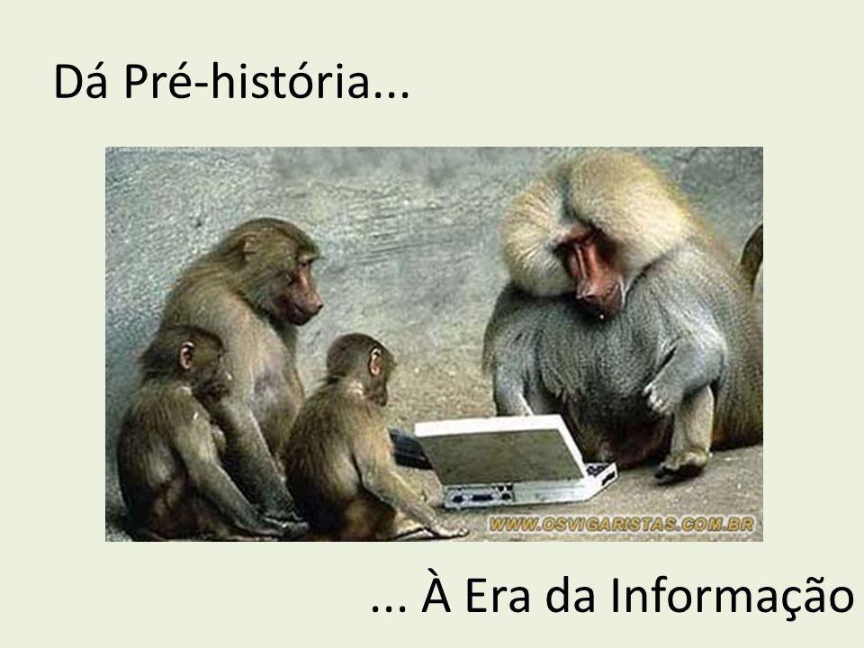 Dá Pré-história...... À Era da Informação