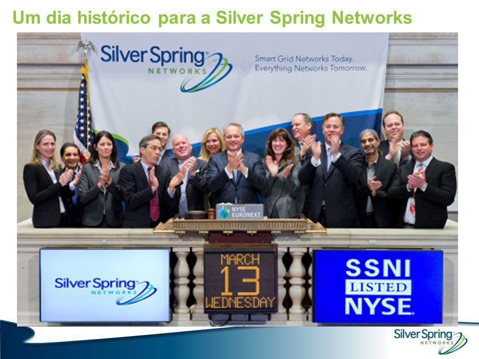 Um dia histórico para a Silver Spring Networks