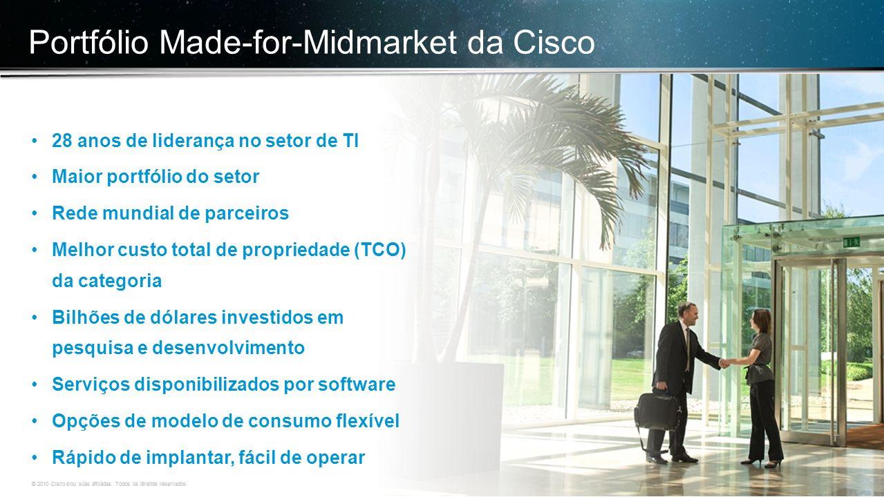 © 2010 Cisco e/ou suas afiliadas. Todos os direitos reservados. Confidencial da Cisco 4 © 2010 Cisco e/ou suas afiliadas. Todos os direitos reservados
