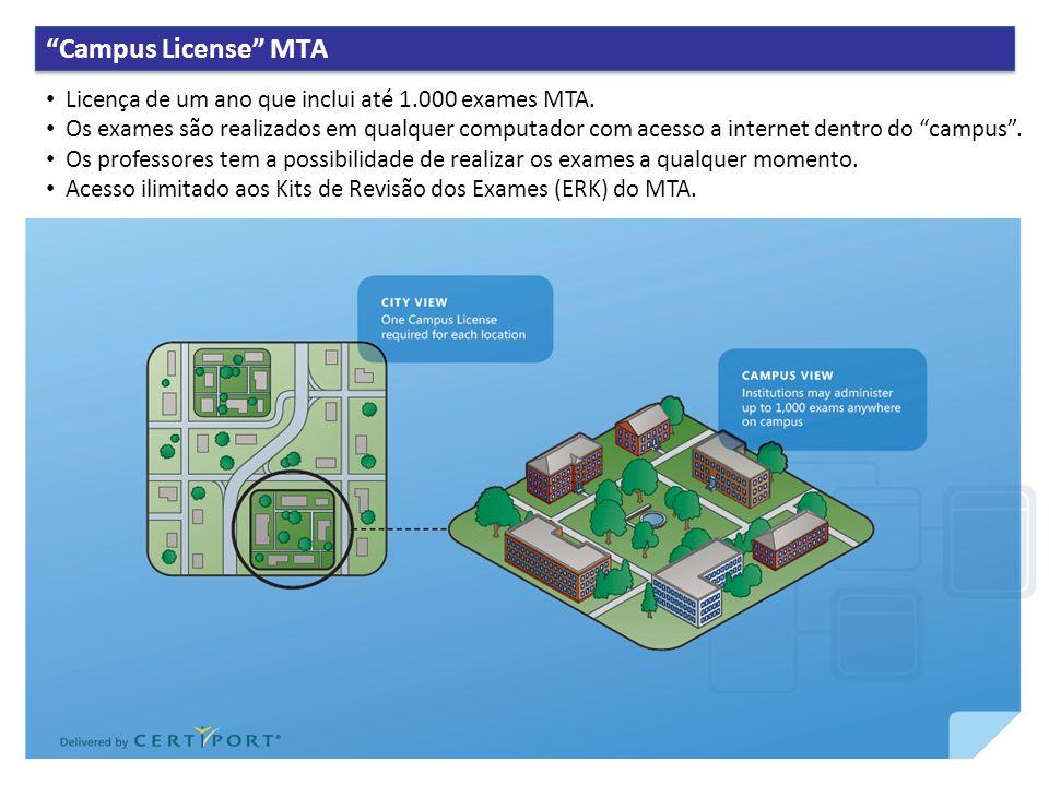 Desenvolvido pela a MS Learning, os Kits de Revisão de Exame (ERK) do MTA são um conjunto de lições de revisão de 21 horas que cobrem os temas de cada exame MTA.