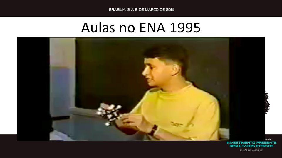 Aulas no ENA 1995