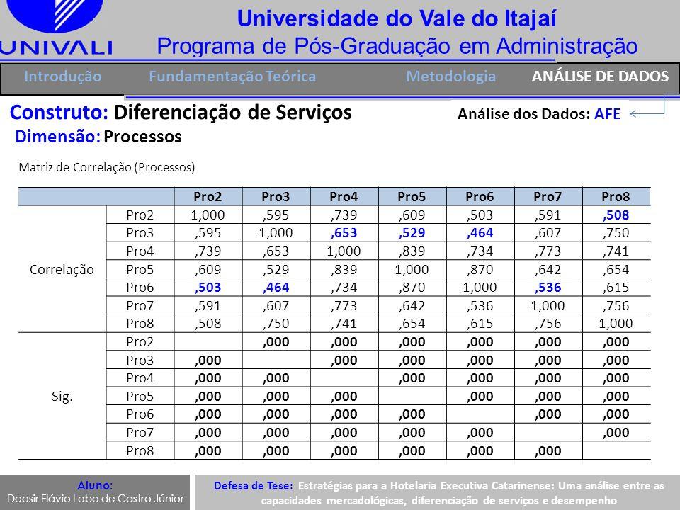 Universidade do Vale do Itajaí Programa de Pós-Graduação em Administração IntroduçãoFundamentação Teórica Aluno: Deosir Flávio Lobo de Castro Júnior C