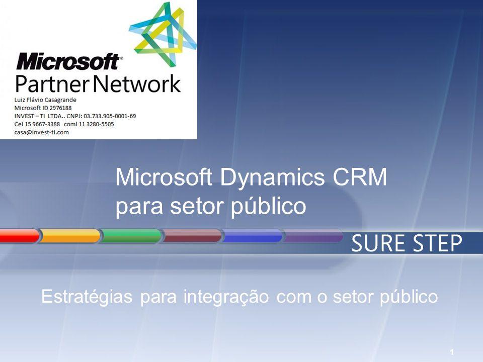 1 Microsoft Dynamics CRM para setor público Estratégias para integração com o setor público