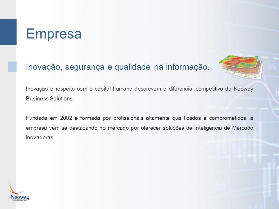 Empresa Inovação e respeito com o capital humano descrevem o diferencial competitivo da Neoway Business Solutions.