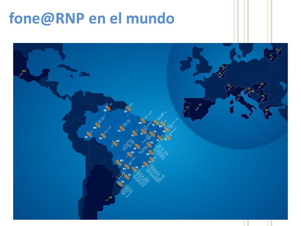 18 fone@RNP en el mundo